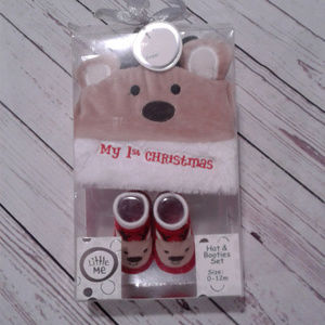 Baby Little Me Gift Set My First Christmas Reindee